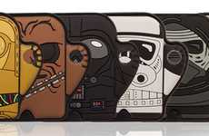 Intergalactic Franchise Item Trackers - The Foundmi Star Wars Bluetooth Tracker Set is Cute