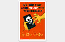 Antiquated Online Etiquette Posters