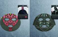 Sci-Fi Skincare Masks - These Isshindo Honpo Star Wars Sheet Masks Improve Your Complexion