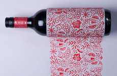 Printmaking Wine Bottles