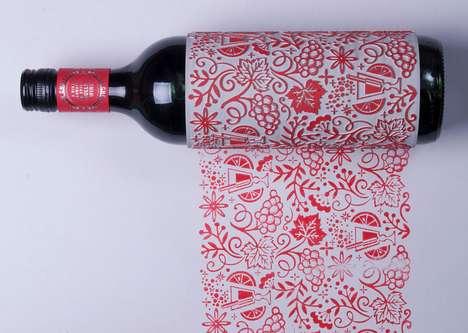 Printmaking Wine Bottles