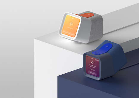 Tilting Bedside Alarm Clocks - This Alarm Clock Supports Healthy Sleep and Waking