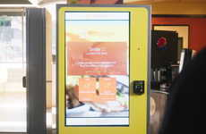 Smile-Activated Ordering Kiosks - CaliBurger's Facial Recognition Kiosks Quickly Recall Favorites