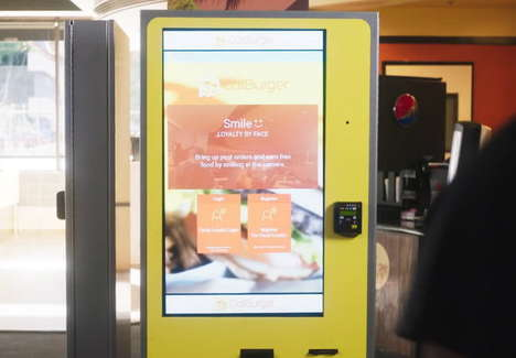 Smile-Activated Ordering Kiosks