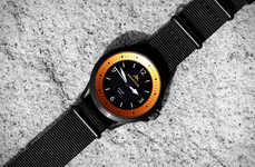 Chic Solar-Powered Watches - The Mountain Active 'Rayseeker' Captures Energy When in the Sun