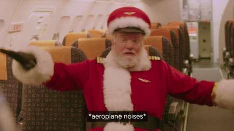 Festive Holiday Flights