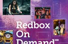 Casual Streaming Services - Redbox's On-Demand Service Can Be Used Without a Subscription