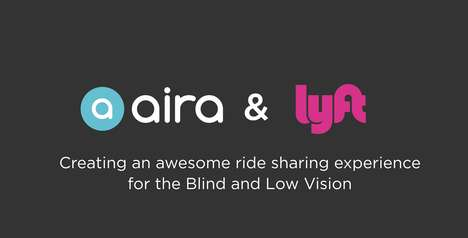 Visually Impaired Rideshare Partnerships - Lyft and Aira will Offer Accessible Travel Options