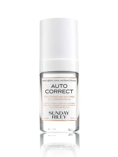 Millennial Brand Eye Creams - Sunday Riley's 'Auto Correct' Eye Contour Cream Brightens and De-Puffs