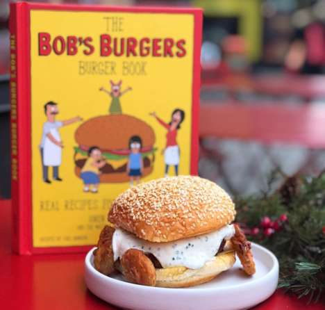 Fictional Burger Joint Pop-Ups - The Bob's Burgers NYC Pop-Up Has Taken Over Chefs Club Counter