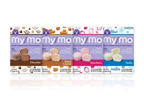 Dairy-Free Frozen Mochi Treats - The My/Mo Mochi Cashew Cream Frozen Dessert is Vegan-Friendly