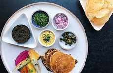 Vegan Caviar Dishes - Los Angeles' PYT Serves Tonburi as an Alternative to Roe