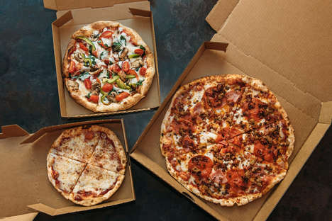 Shareable Fast Casual Pizzas