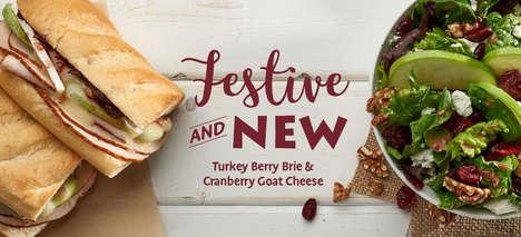 Festive Cranberry Entrees