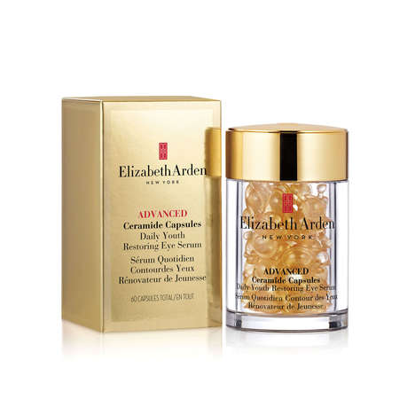 Topical Serum Capsules - Elizabeth Arden's Eye Serum Capsules Boast Anti-Aging Properties