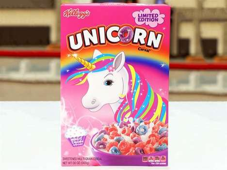 Unicorn-Themed Cereals