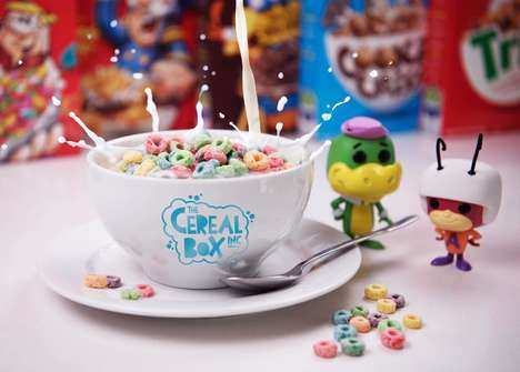 Whimsical Cereal Cafes