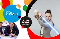 Sci-Fi STEM Campaigns - EDF and Star Wars are Teaming Up for the 'Pretty Curious' Campaign