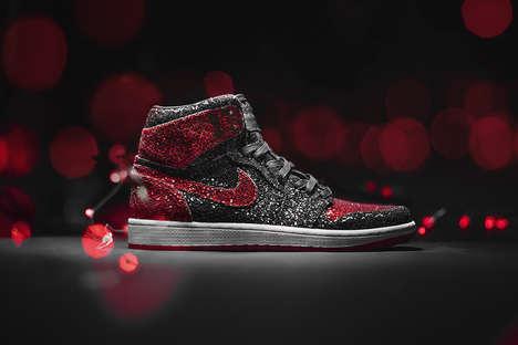 Christmas-Inspired Basketball Sneakers
