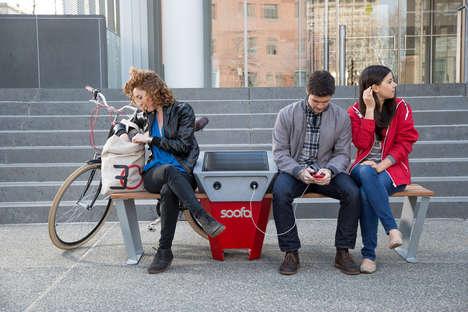 Urban Phone Charging Signs