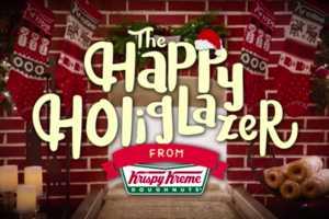 Festive Donut-Glazing Videos
