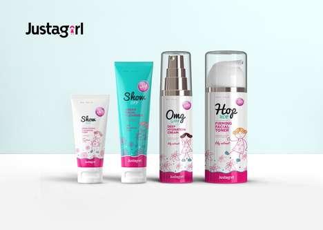 Feminine Teen Skincare