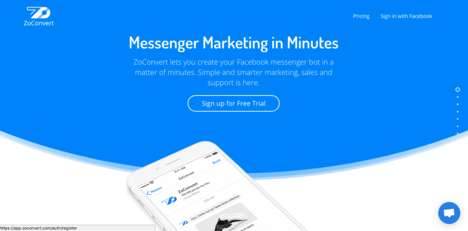 Speedy Messenger Marketing - ZoConvert Helps Businesses Create Facebook Messenger Bots