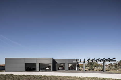 Raw Steel Garages
