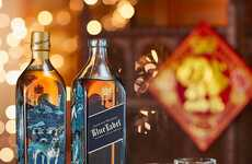 Chinese Holiday Whisky Bottles - Johnnie Walker's Special-Edition Bottle Marks the Year of the Dog