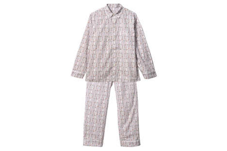 Stylish Pinstripe Pyjamas