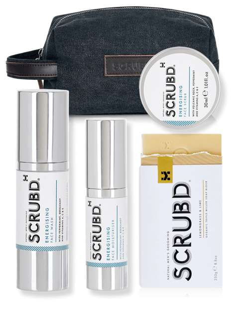 Detoxifying Grooming Kits - SCRUBD Makes Travel-Sized Skincare Sets for Men That Detoxify