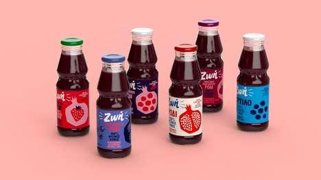 Youth-Inspired Juice Branding