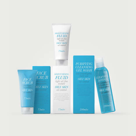 Typographic Skincare Packaging