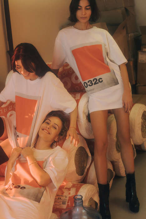 Magazine Cover Clothing Lines - 032C and KM20 Released an Exclusive Capsule Collection