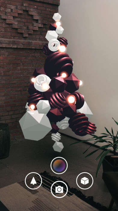 AR Holiday Tree Apps - AKQA's 'Tree of Lights' App Enhances Any Space with an Augmented Tree