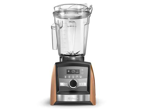 Copper-Plated Blenders - Williams-Sonoma is Selling a Special-Edition Vitamix Blender