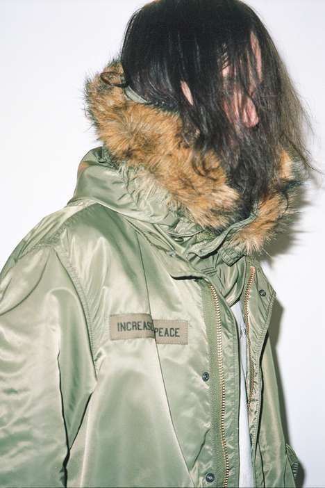 Embroidered Parka Collaborations