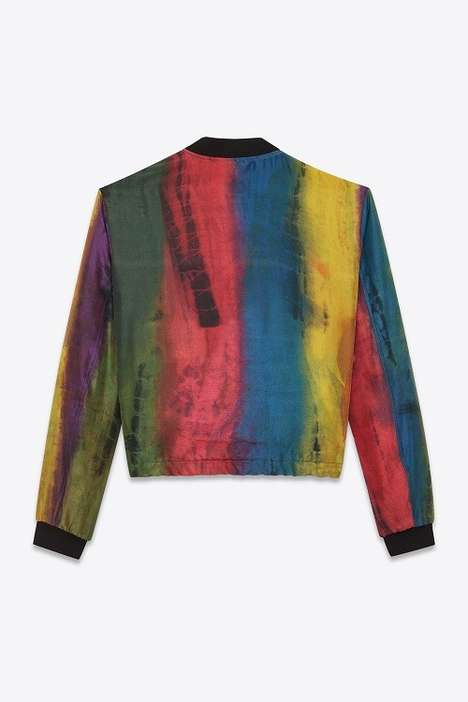 Multi-Colored Silk Jackets