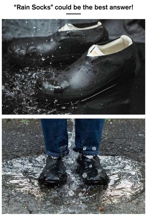 Water-Repellent Shoe Coverings