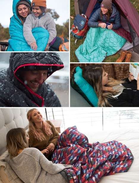 Vivid Multi-Purpose Adventure Blankets