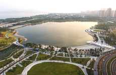 Ocean Bay Parks - 'Shenzhen Talent Park' is a New Public Urban Park on the Edge of the Sea