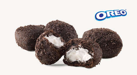 Cookie-Inspired Doughnut Holes
