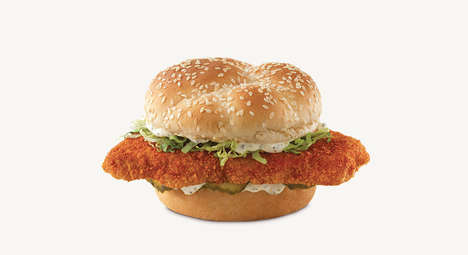 Spicy Fish Fillet Sandwiches