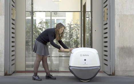 Secure Autonomous Delivery Robots