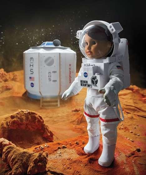 Empowering Astronaut Dolls