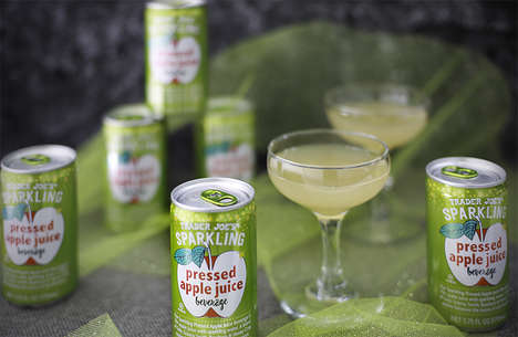 Sparkling Apple Juices