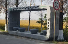 3D-Printed Bus Shelters
