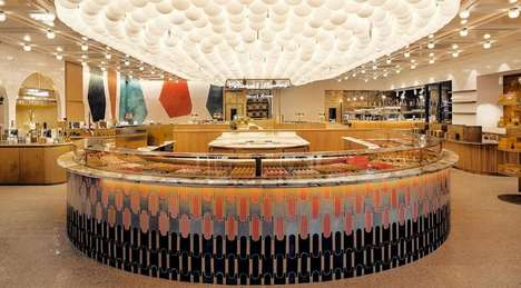 Hybrid Beauty-Bakery Stores - L'Occitane and Pierre Hermé Created a Shared Store Space