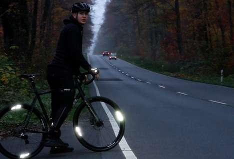 Bike Wheel Reflectors