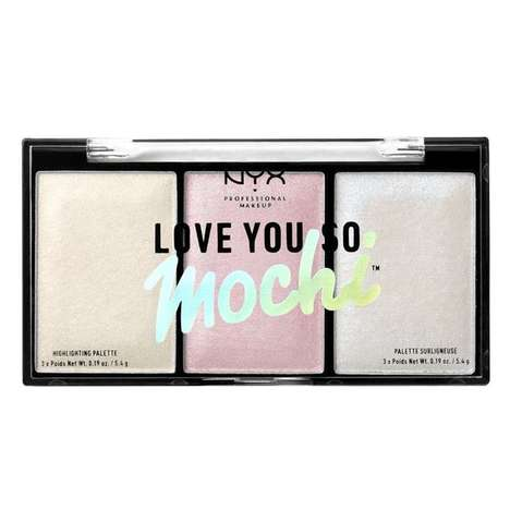 Mochi-Inspired Highlighter Palettes